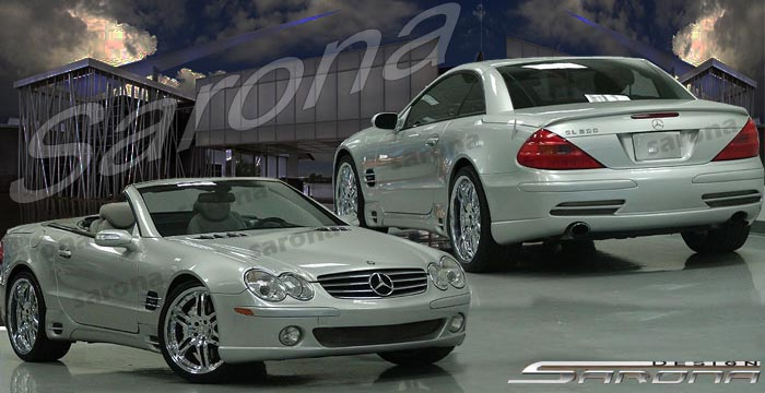 2003-2008 MERCEDES SL FULL BODY KIT